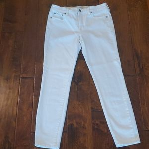 JCrew White Skinny Jeans